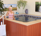 Ideal for aquatic exercise and therapy, our WaterWell provides chest-deep water in a freestanding package that fits just about anywhere.