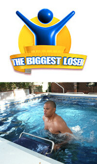 The Biggest Loser Couples: Sam from Season 9 using the Fastlane pool